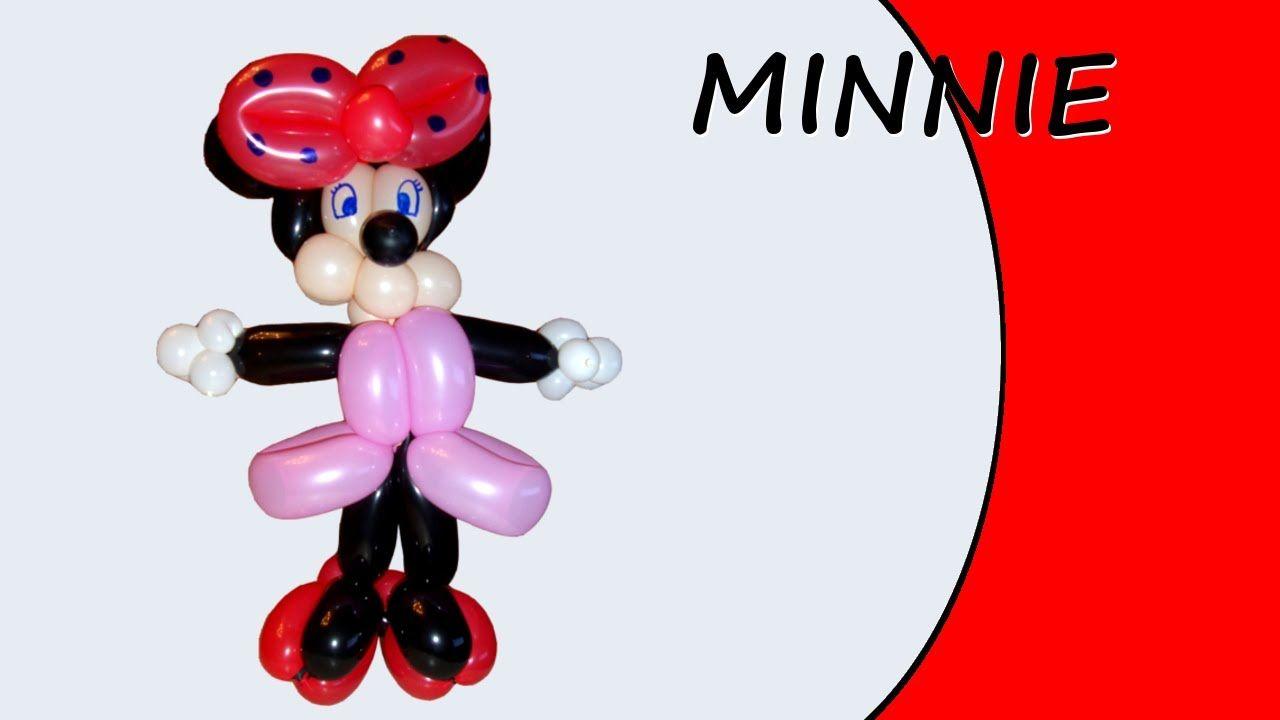 Video in cui viene mostrata Minnie, una figura avanzata con i palloncini modellabili. #palloncini #PallonciniModellabili #balloon #BalloonTwisting #globoflexia #globos #minnie