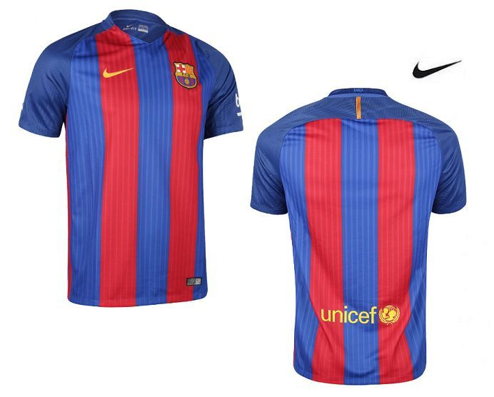 68b64093c8 Camiseta Oficial del Fútbol Club Barcelona Nike 2017. Antes 85