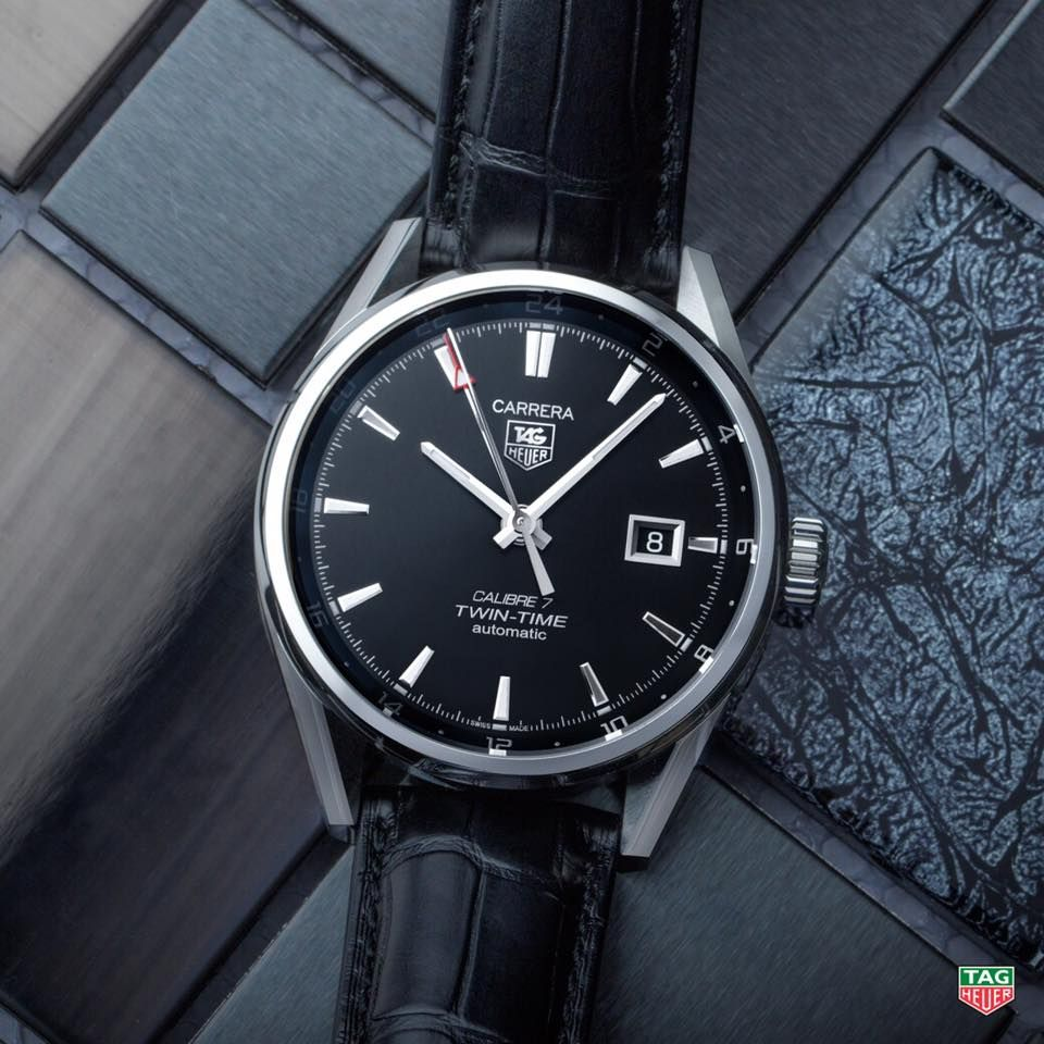 72432accfb62 TAG Heuer Carrera Calibre 7 Twin Time