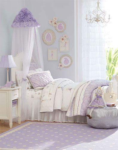 I love the Pottery Barn Kids Ruby Ballerina & DIY wall art / bed spread combo -- Ru0027s ballet? | Bedroom ...
