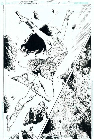 Butch Guice - Wonder Woman Comic Art