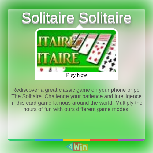 Pin On Solitaire Games