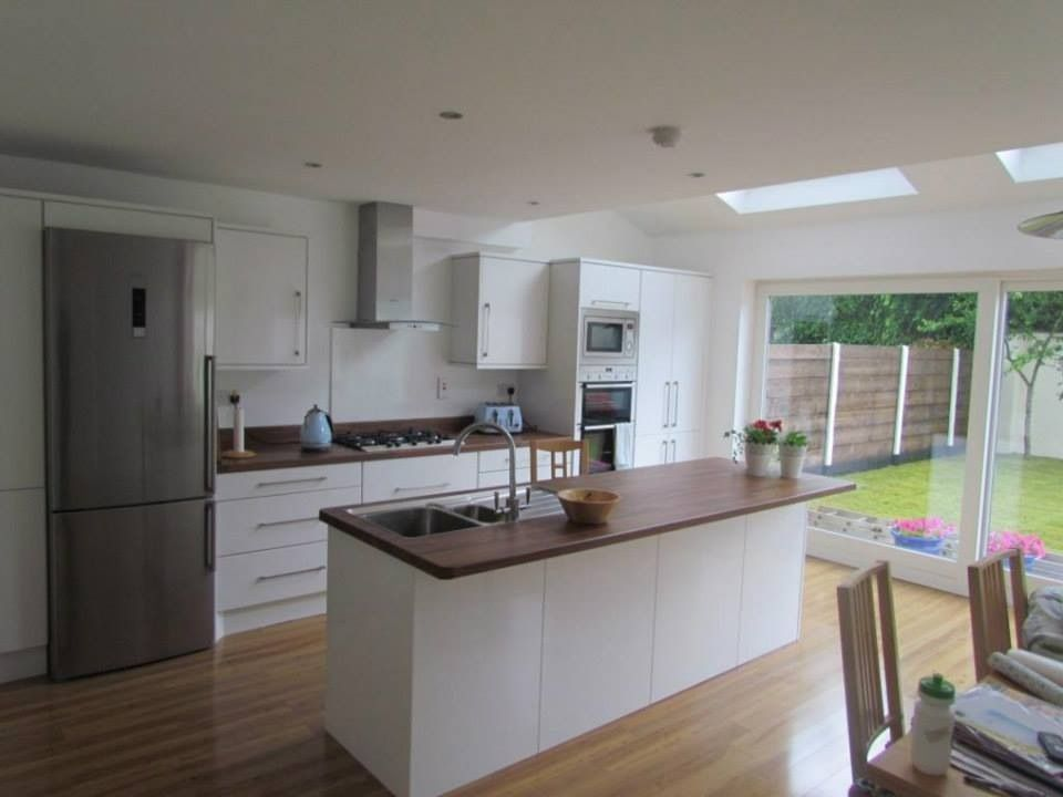 Completed Kitchen extension with a client brief to get more light ...