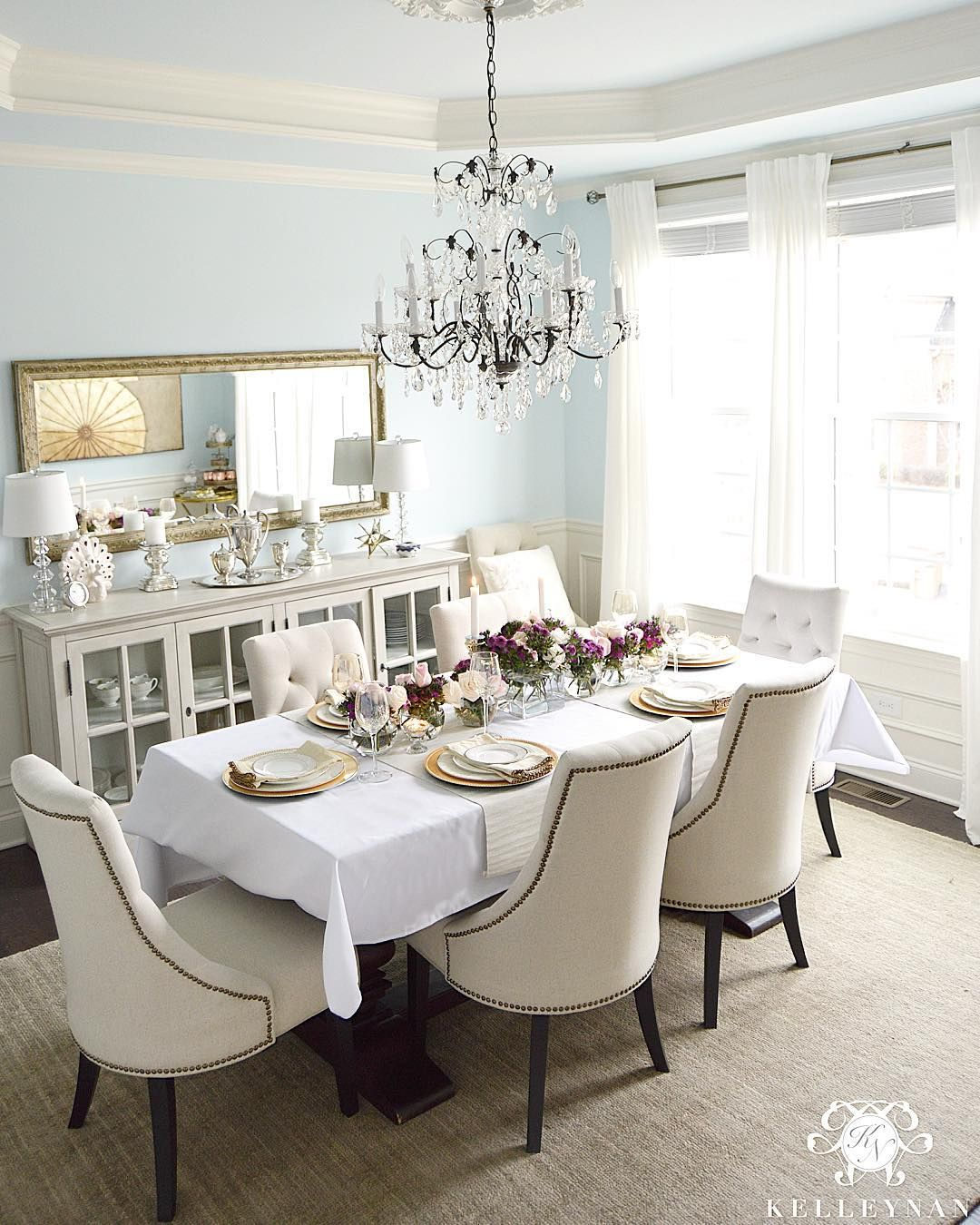 Kelley Nan Kelleynan O Instagram Photos Romantic Dining Room Table