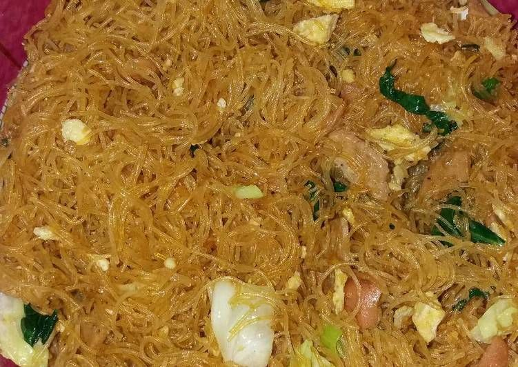 Resep Bihun Goreng Oleh Bella Anggia Recipe Indonesian Food Malaysian Food Indonesian Cuisine