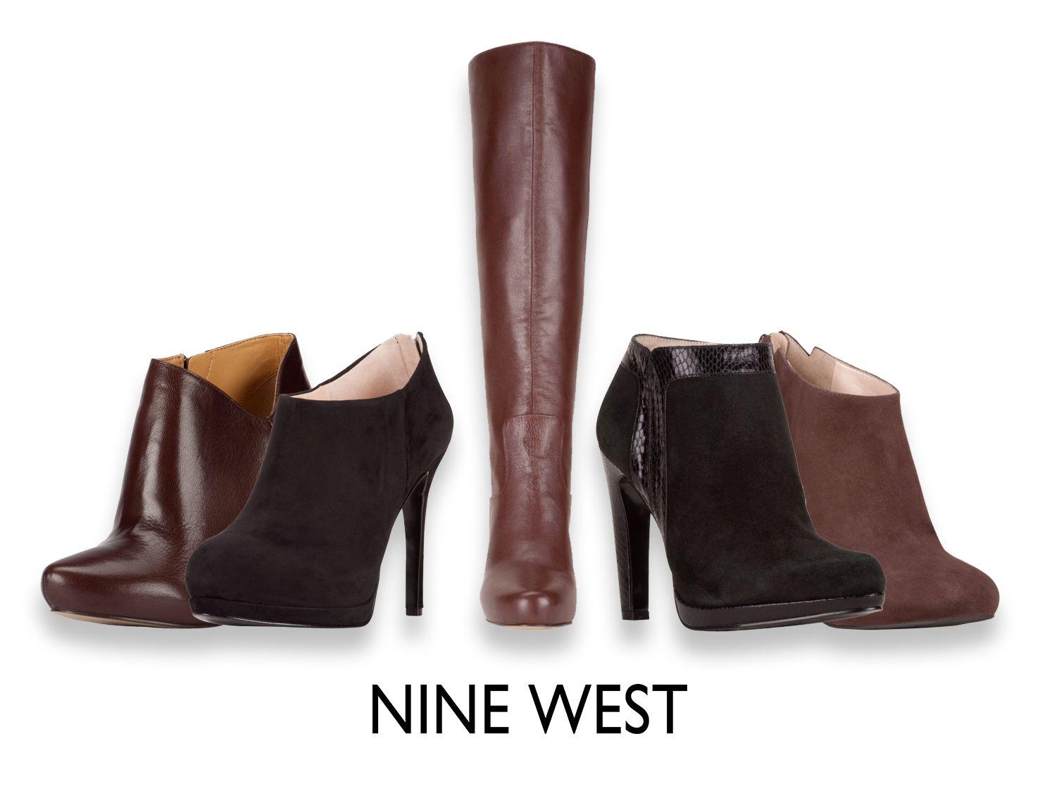 best service f77df c986f Café y negro - Botas y Botines - Zapatos Nine West México