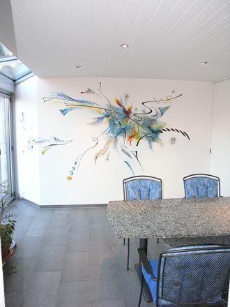 Marvelous Wandmalerei Wohnzimmer   Google Suche