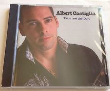 These Are The Days by Albert Castiglia Music Cd Brand New Sealed. Blue Leaf Rec.