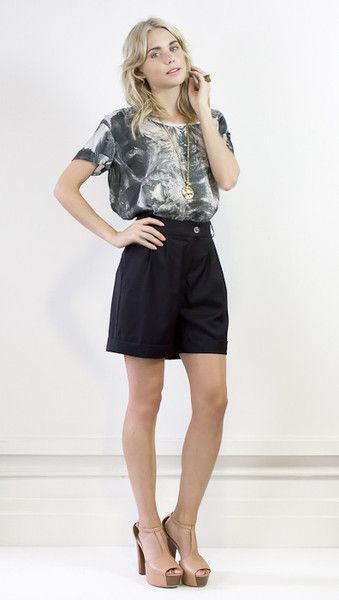 Playful top for casual or formal wear