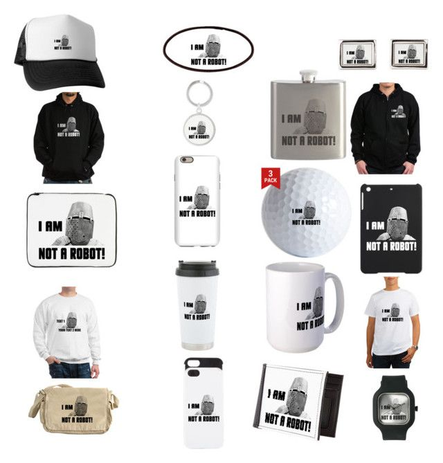 """""""Knight - I Am Not A Robot"""" by polyart-466 ❤ liked on Polyvore featuring men's fashion and menswear"""