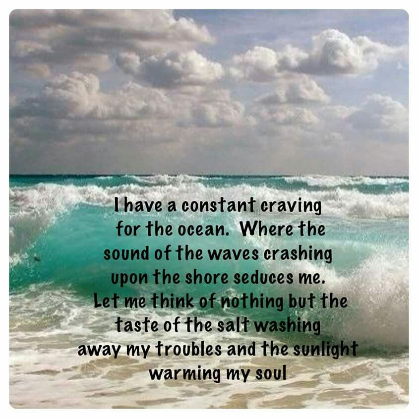 Pin by Diane Wald on love | Ocean quotes, Beach quotes ...