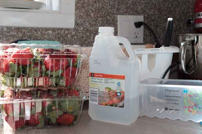 a simple produce wash for cleaning your fruits and vegetables