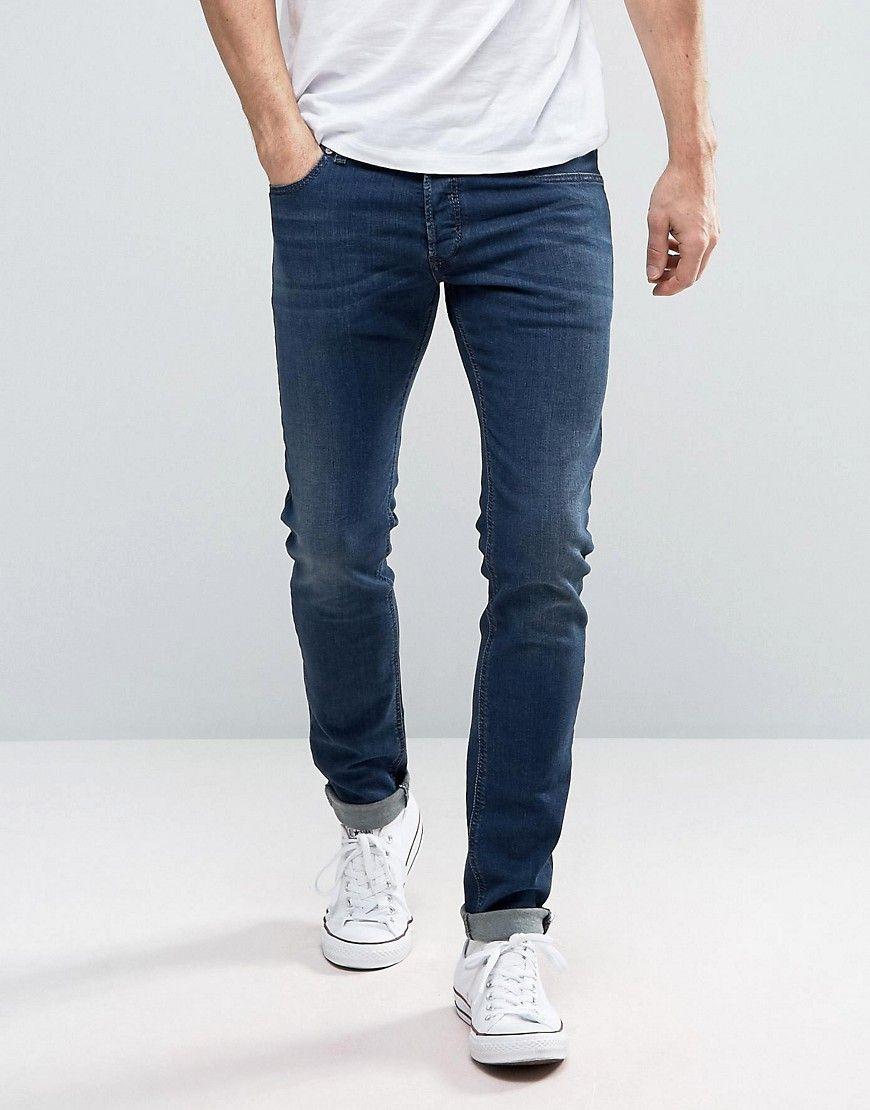 Diesel Mens Sleenker Slim-Leg Jean