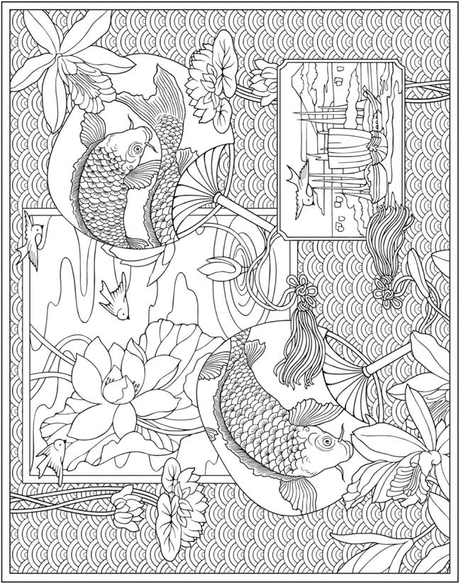 Welcome To Dover Publications Coloring Books Coloring Pages Mandala Coloring Pages