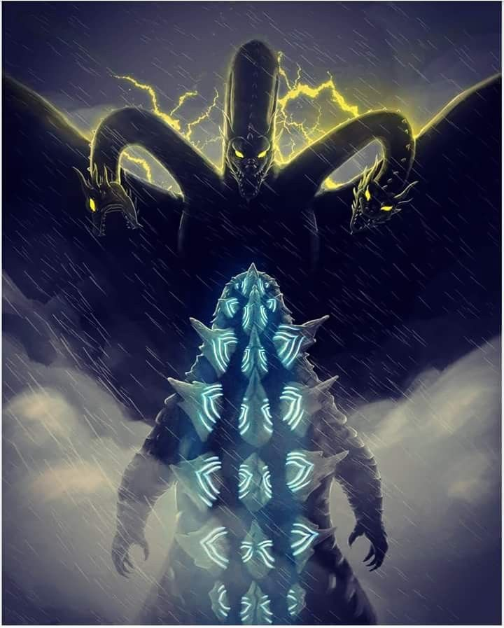 Godzilla 2 Imax Poster Textless: Godzilla King Of The Monsters By Ahbe87 Godzilla 2 In 2019