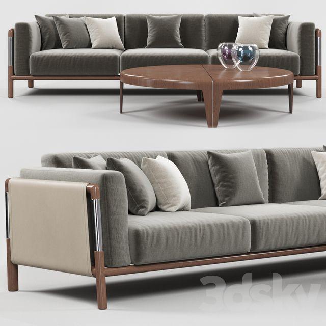 3d models Sofa Urban sofa in 2020 Sofa