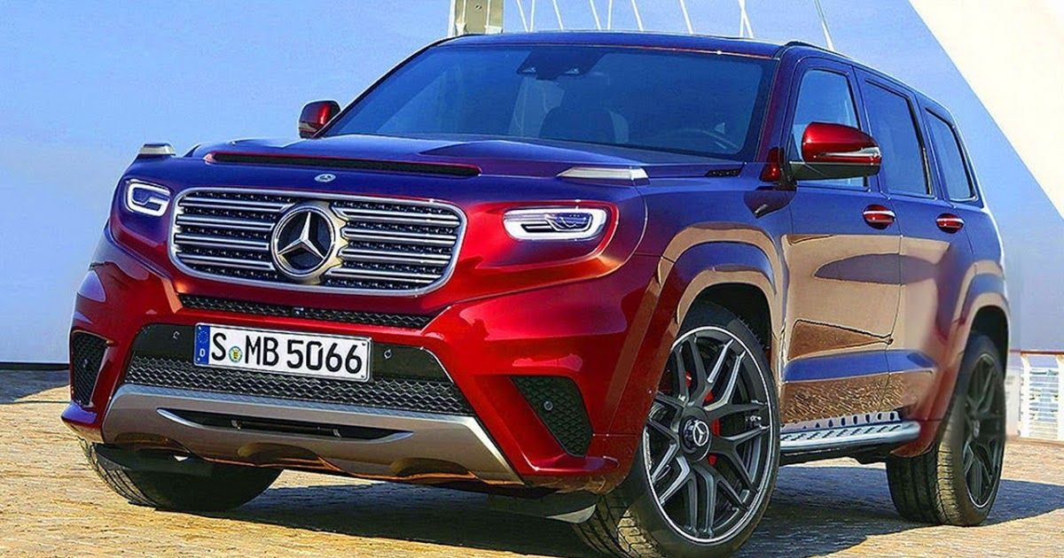 Here's a superamazing rendering of the 2020 MercedesBenz