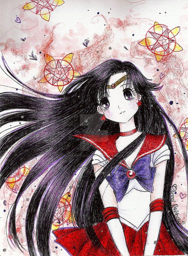 Sailor Mars by eternalrainbow7 on DeviantArt