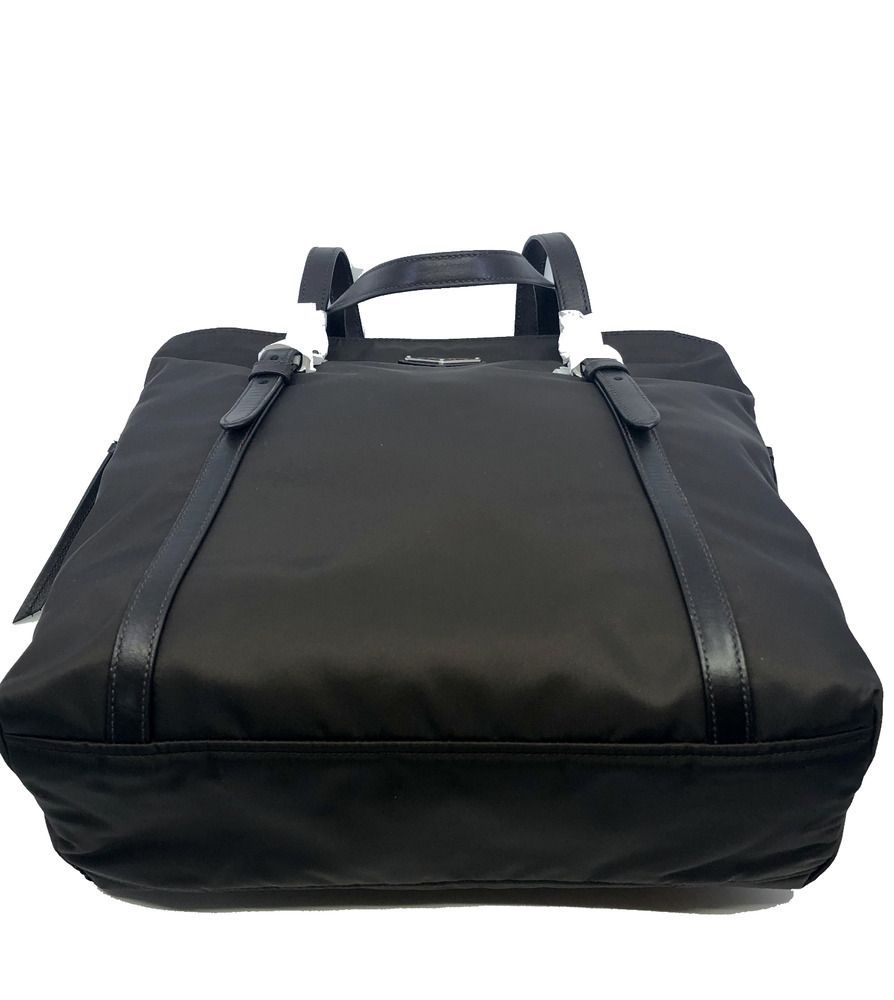 bba0ec6c5e95 eBay Ad) Prada Brown Tessuto Nylon Soft Calf Leather Trim Shopping ...