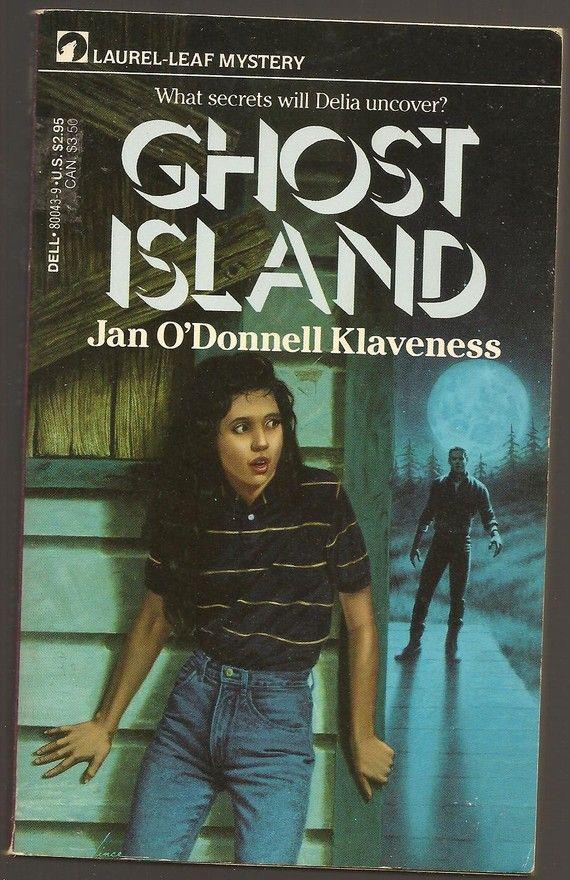 Ghost Island By Jan Odonnell Klaveness By Vintagebookboutique