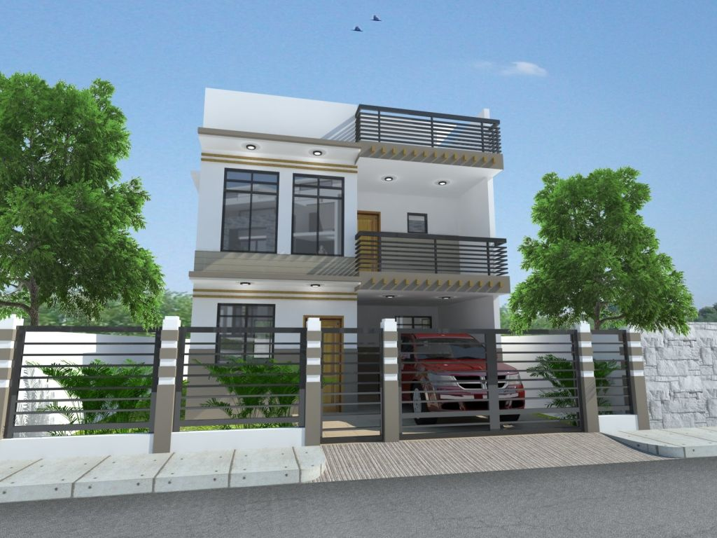 House Plans Philippines 3 Two Storey House Gray House Exterior
