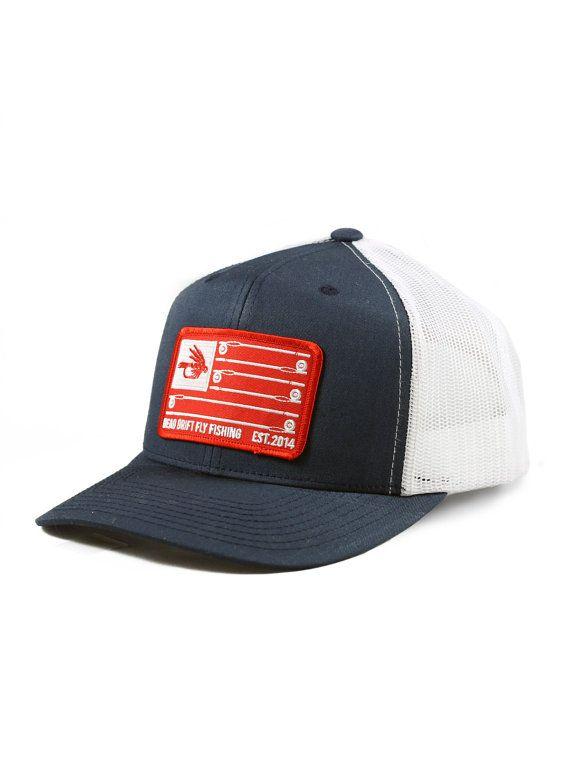 37ec7119bc27e Fly Fishing Hat Stars   Stripes Snapback Trucker by Dead Drift Fly ...