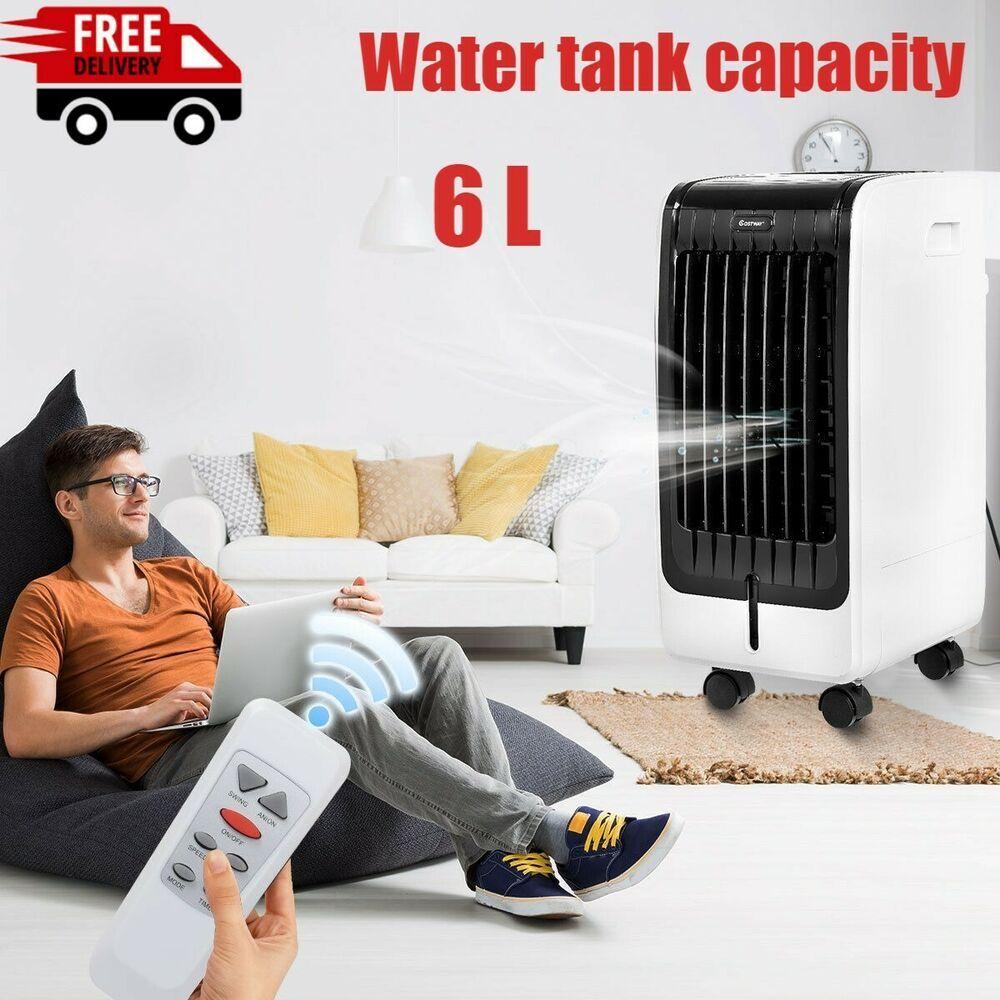 Portable Air Conditioner Evaporative Cooler AC Unit Remote
