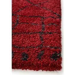 Photo of benuta Trends Hochflorteppich Gobi Rot 120×170 cm – Berber Teppichbenuta.de