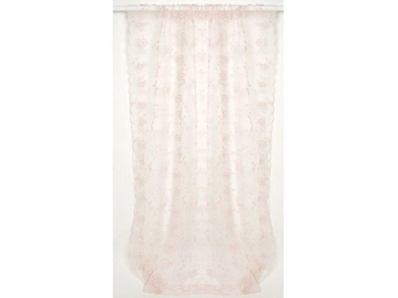 Ava Sheer Pink Window Panel | Ava Bedding Collection Window Covering | Sweet Peaches Bedding