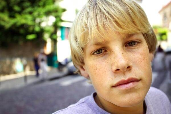 boy Blonde teen