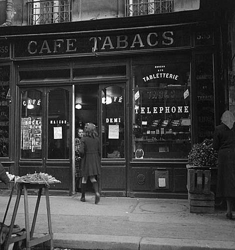 Café-tabac 355 rue Vaugirard 15ème  © Musée des Civilisations de l'Europe et de la Méditerranée