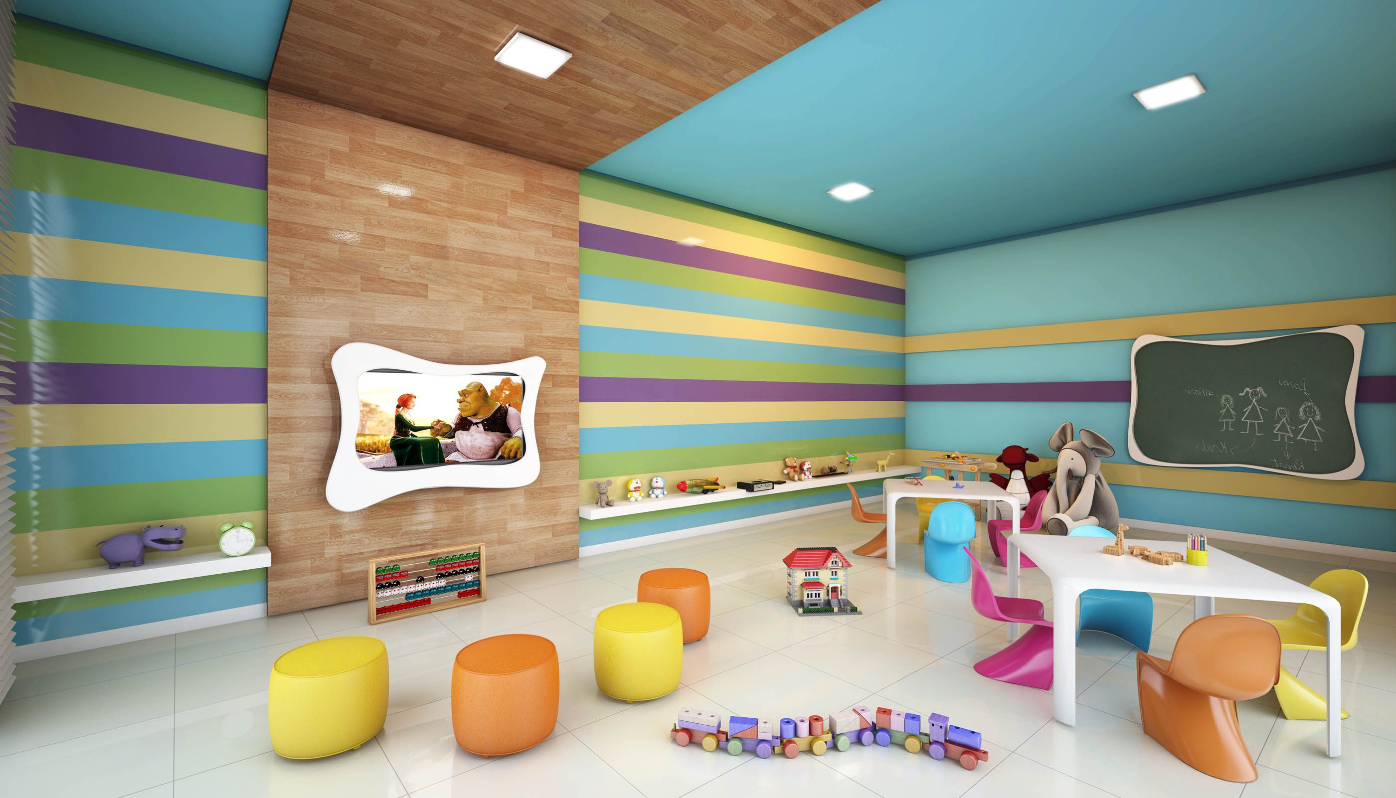 Edificio Brinquedoteca Kids Play Room Architecture Project Building Bohrer