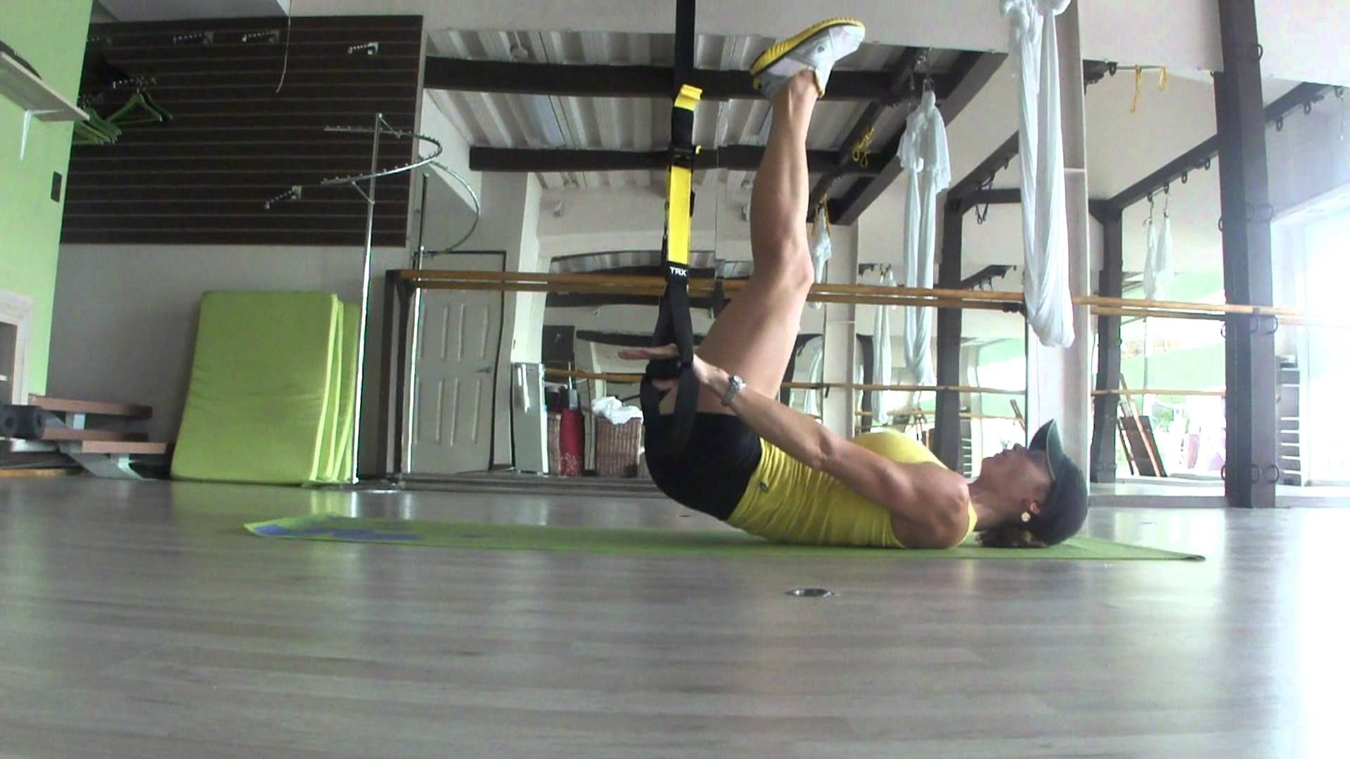 TRX Lower Ab Series 2.m2ts - YouTube   Lower abs Trx Abs