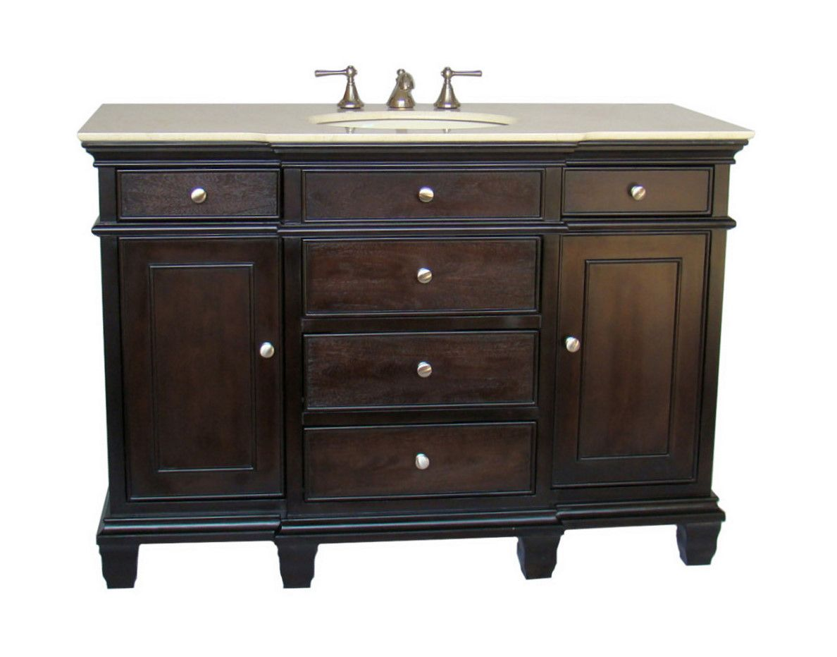 Beautiful 50u201d Diana (DA 680) : Bathroom Vanity :: Bathroom Vanities : Images