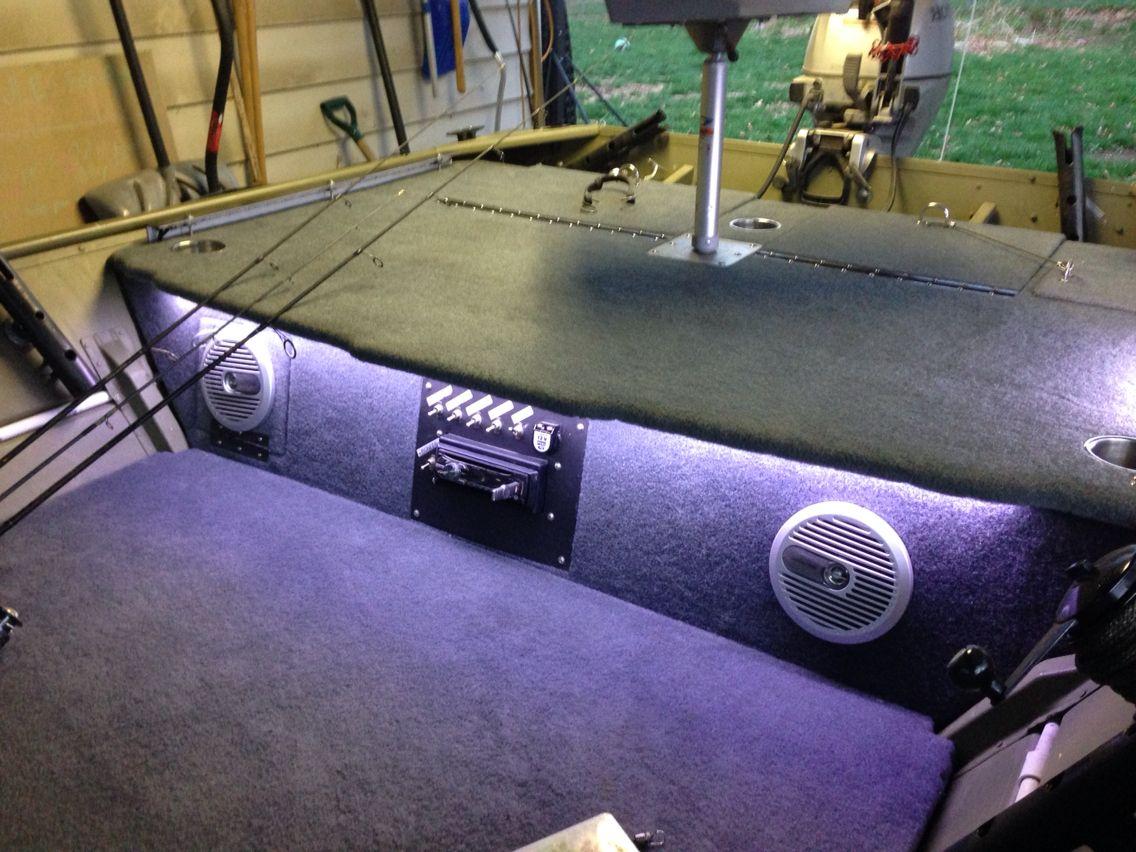 Lowe Jon Boat Speakers Lights
