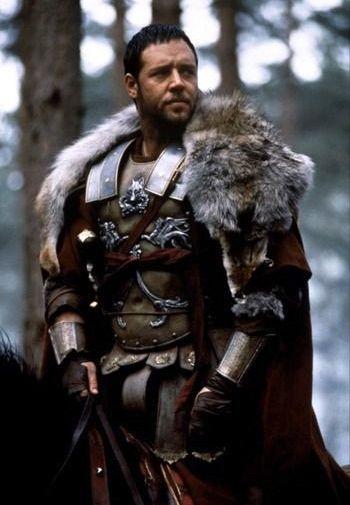 Russell Crowe as General Maxiumus Decimus Meridius in Ridley ...