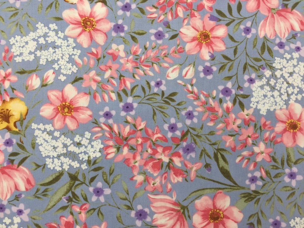 Vintage florals northcott fabric flower blue pink cotton wild white vintage florals northcott fabric flower blue pink cotton wild white quest for a mightylinksfo