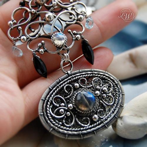 SCUDO - Necklace - talisman by JoannaWatracz on DeviantArt
