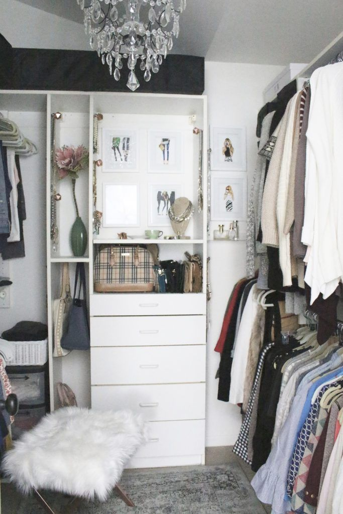 A Stylish Boutique Closet Reveal Home Decor Closet Decor