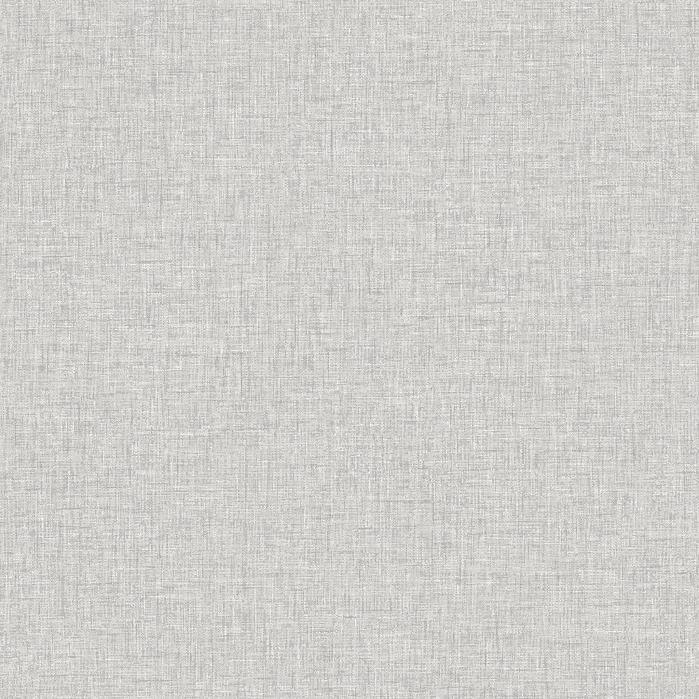 Arthouse Linen Textures Light Grey Paper Strippable Roll Covers 57 Sq Ft 676006 The Home Depot Grey Linen Wallpaper Linen Wallpaper Textured Wallpaper