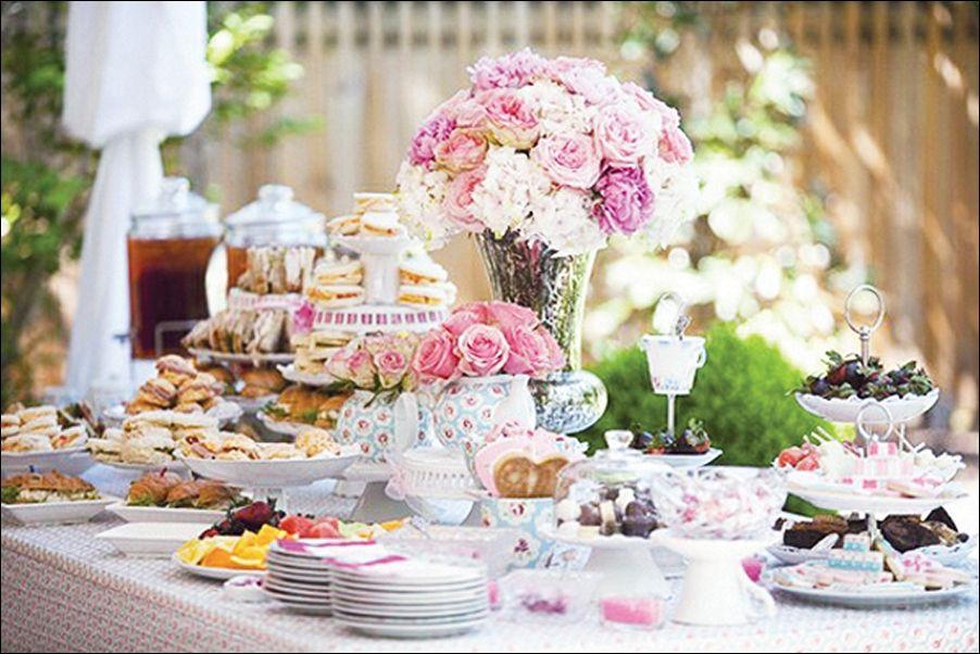 Tea Party Table Decorations Ideas Elegant For Jpg 902 602