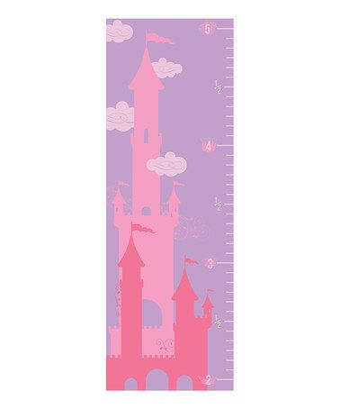 Another great find on #zulily! Beriwinkle Princess Growth Chart by Beriwinkle #zulilyfinds
