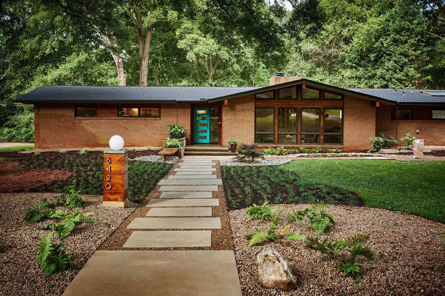 Featured Location Mid Century Modern Ranch In North Carolina