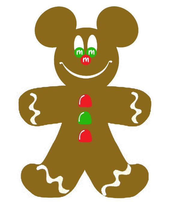 christmas gingerbread mickey mouse clip art clip art gingerbread rh pinterest com gingerbread clip art free gingerbread clipart border