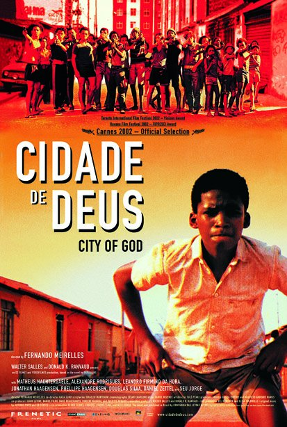 Cidade De Deus City Of God 2002 Brazilian Crime Drama City Of