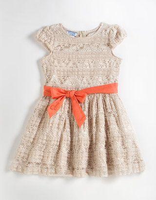 740e4ef04d ShopStyle  GUESS Girls 2-6X Cap Sleeve Lace Dress