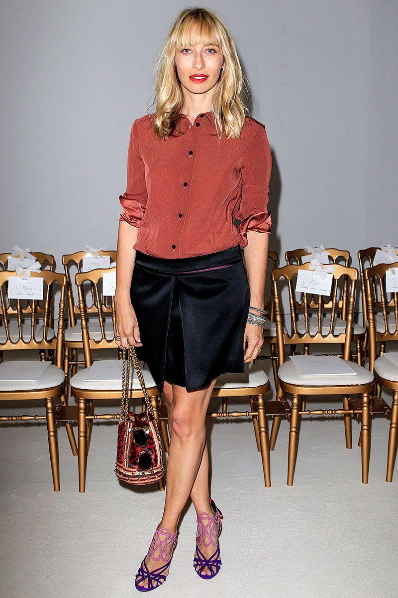 front row paris haute couture alta costura semanas de la moda otono invierno 2013 2014 - Alexandra Golovanoff