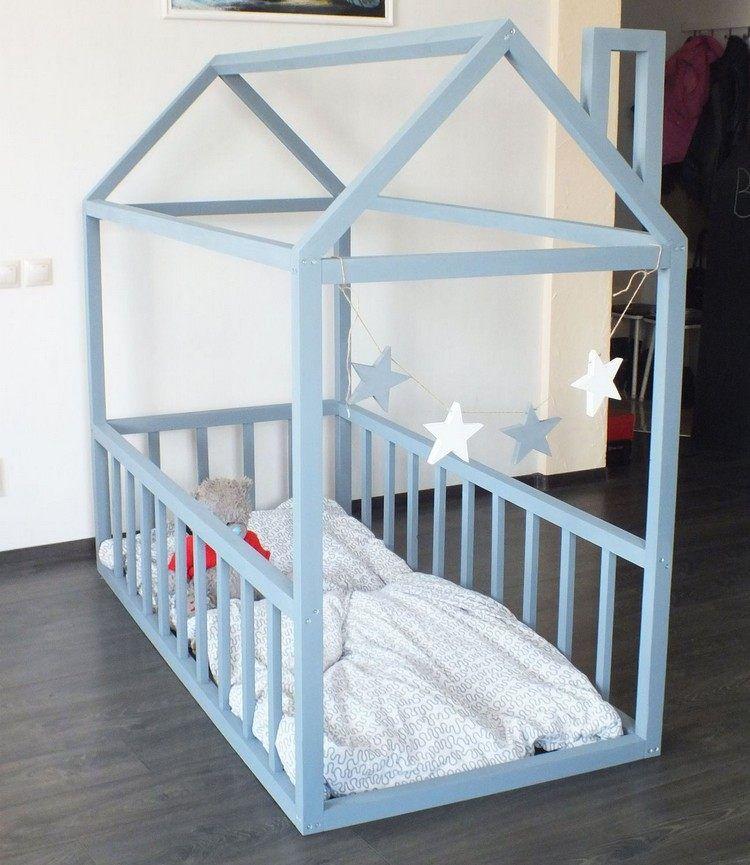 Fabriquer Un Lit Cabane Pour Les Petits Loulous Demonstration En Photos Lit Cabane Deco Chambre Enfant Chambre Bebe