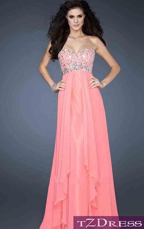 Cute prom dress but I don\'t like the ruffle at the bottom of the ...