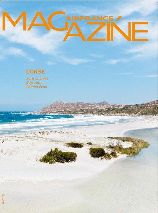Air France Magazine  - Corse - Jerome Galland